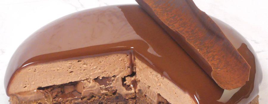 Charles & Ava - Tarte au chocolat
